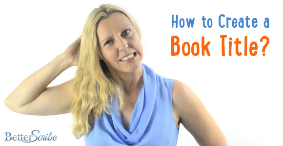 How To Make A Book Title : How to create a book title
