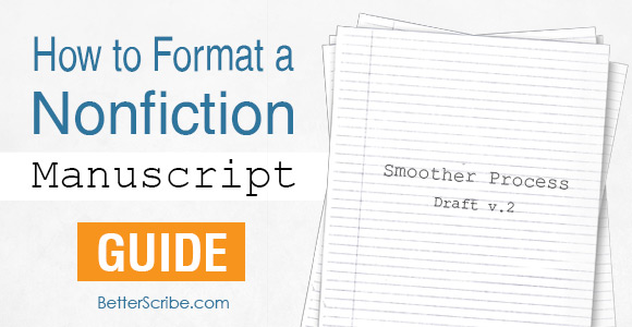 novel manuscript format template